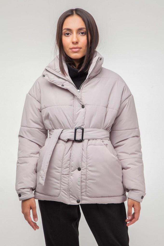Куртка oversize бежевая - THE LACE