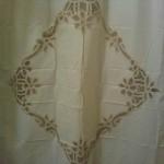 simply battenburg lace shower curtain