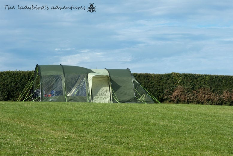 A weekend camping in Llandudno