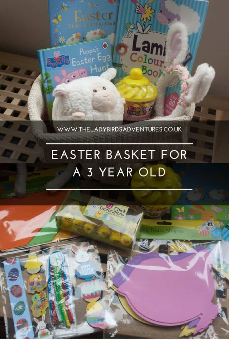 Easter basket ideas for a 3 year old