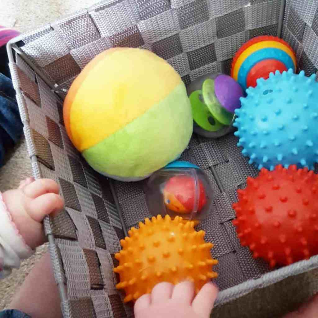 colourful balls #mycolourfulkids