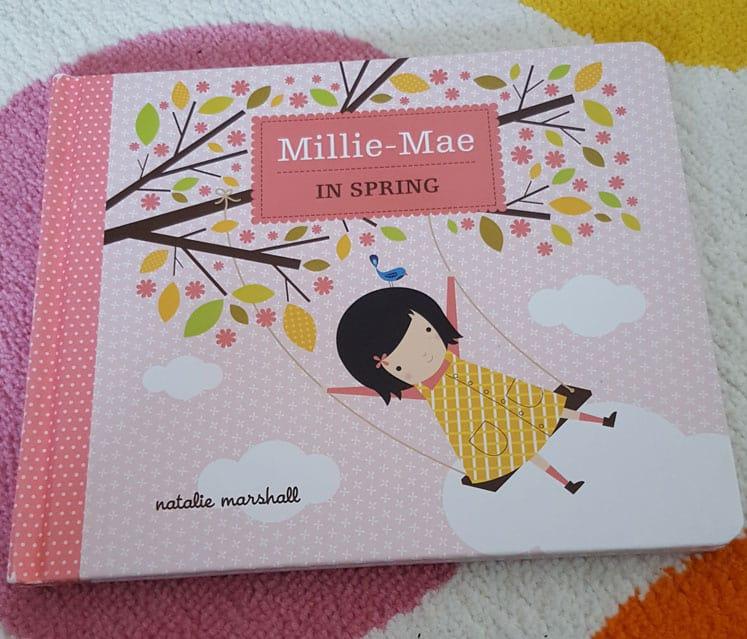 Millie-mae spring book