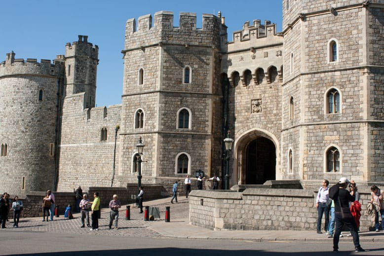 An afternoon in Windsor with a toddler