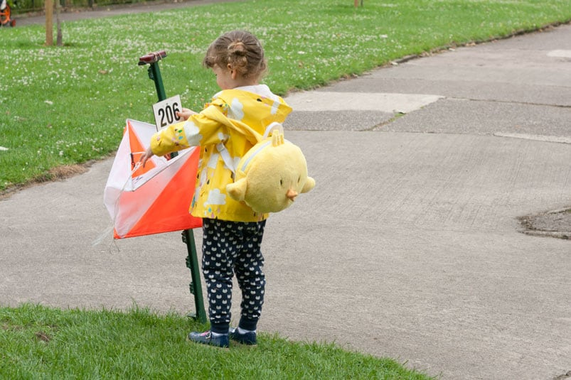 Orienteering, forest crafts and board books #littleloves