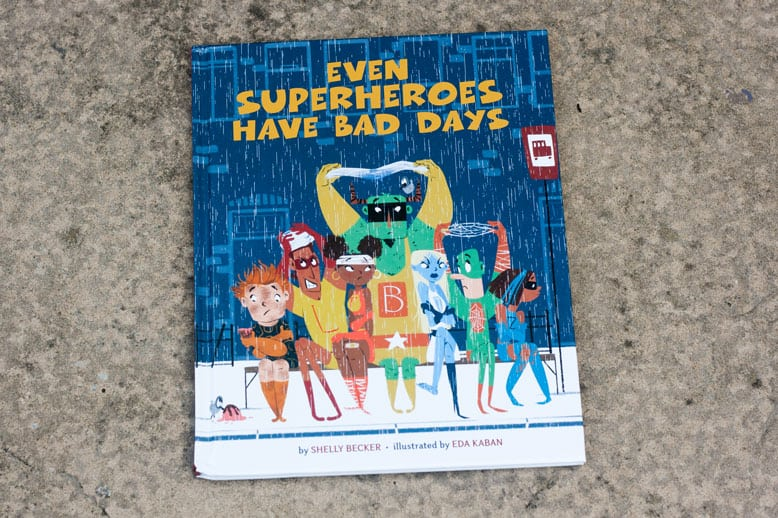 Even superheroes have bad days book review