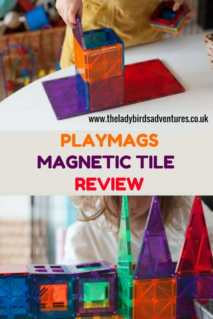 Playmags magnetic tile review