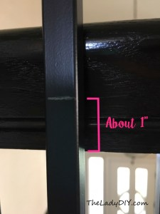 How to Install Wrought Iron Spindles_spindle measuring