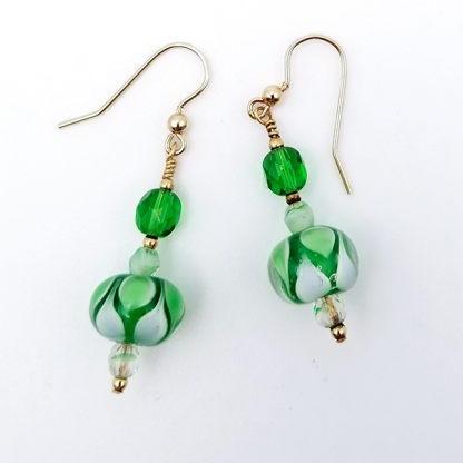 Green Dream earrings