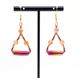 Sunset earrings