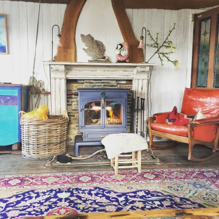 A rocking chair, a wood burner and gallons of red wine. Sundays - tick .