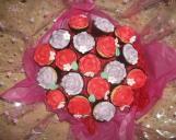 Giant cupcake bouquet
