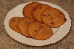 Pumpkin and Chocolate cookies