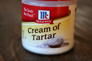 Remove Rust with Cream of Tartar!