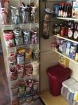 Organizational Ideas: Shoe Organizer As Pantry Door Shelves!