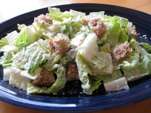 Homemade Ceasar Salad!