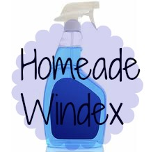 Housewife Hacks: DIY Windex Spray, For $0.20 A Bottle!