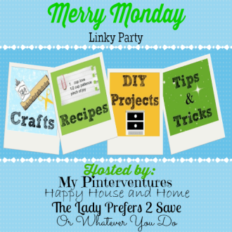 Welcome to the Merry Monday Linky Party #15!