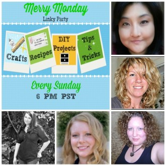 Welcome to the Merry Monday Link Party #25!