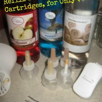$0.10 DIY Plug-In Oil Cartridges Refill Tutorial!
