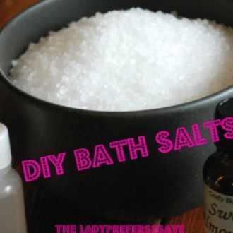 Beauty On A Budget: DIY Bath Salts Recipe!