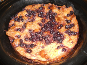 Blueberry Overnight French Toast Casserole!