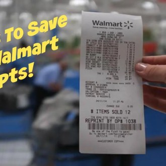 5 Ways To Save With Walmart Receipts!
