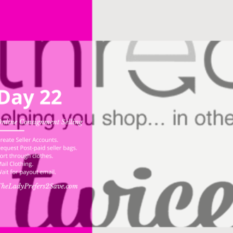 February No Spend Month Challenge: Day 22 (Selling on ThredUp & LikeTwice)