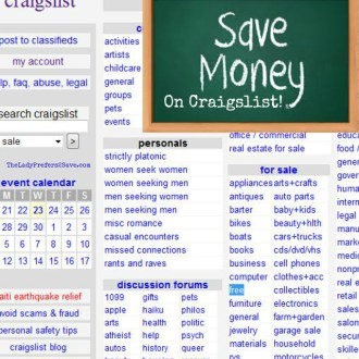 Wednesday Ways to Save: Craigslist Freebies!