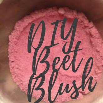 DIY Organic Spring Blush