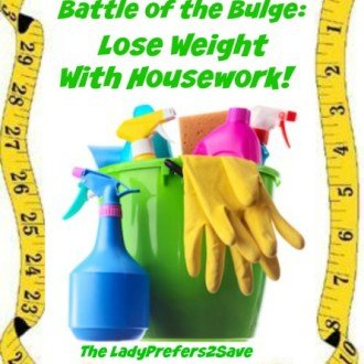 Lose Weight With Housework!