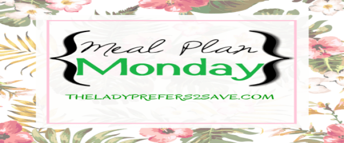 meal plan monday banner