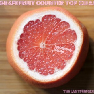Easy, DIY Method Grapefruit Cleaner!