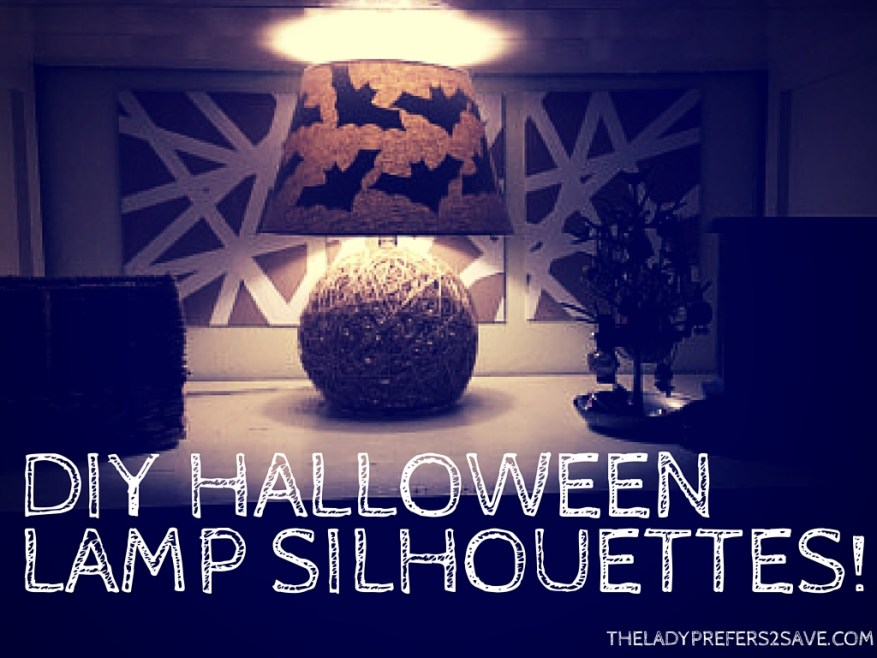DIY HalloweenLamp Silhouettes!