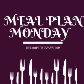 Meal Plan Monday 10/5-10/10/15!
