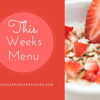 Meal Plan Monday (10/19/15-10/25/15)