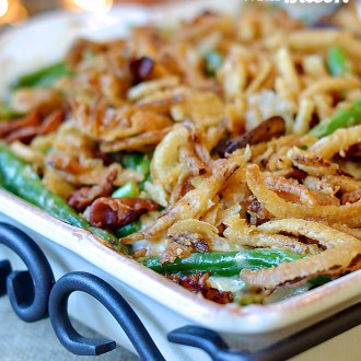 eMeals Green Bean Casserole with Bacon Recipe!