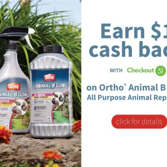 Checkout51: Save This Week on Ortho® Animal B Gon® Animal Repellent