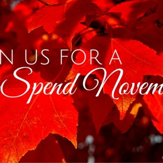 Follow Us This No Spend November