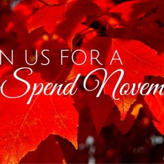 Follow Us This No Spend November