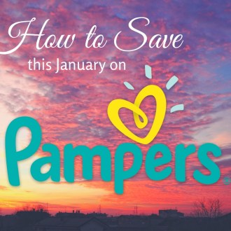 How to save this January on Pampers