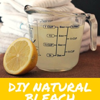 DIY Natural Bleach Alternative