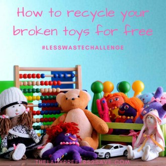 How to recycle your broken toys for free