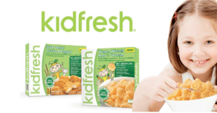 save on kidfresh frozen meals at kroger