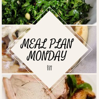 Monday Meal Plan (5/29-6/3/17)