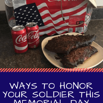 Ways to Honor Your Soldier This Memorial Day ( & Smoked Curried Cajun Ribs Recipe)