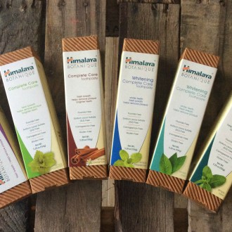 Natural Dental Care with Himalaya Botanique