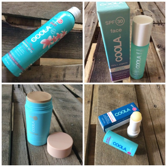 Lavish your skin with COOLA sunscreen products