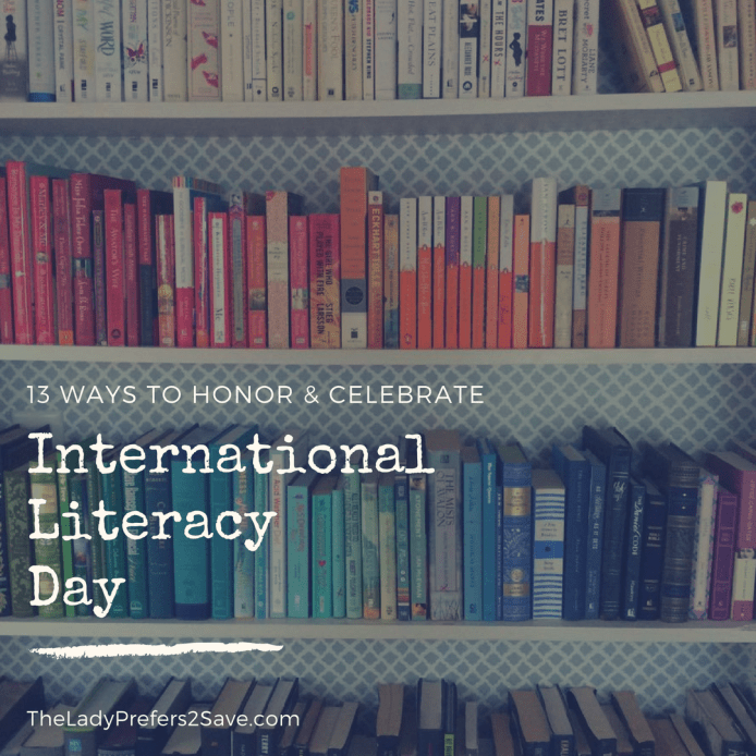 13 Ways to Celebrate International Literacy Day