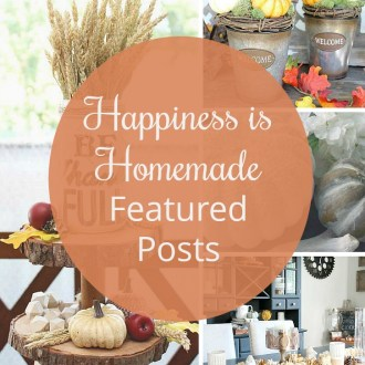 Welcome back to the Happiness is Homemade Link Party 190