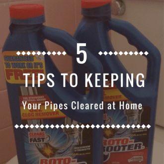 5 Tips To Clear Pipes In Your Home